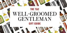 From a classic dopp kit to a sumptuous shaving set, here are the best grooming products give the men in your life this holiday season. Top Gifts, Best Gifts, Shaving Set, Dopp Kit, Men's Grooming, Groomsman Gifts, Gift Guide, Gentleman, Good Things