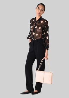 12a97580c Armani Women, Giorgio Armani, Online Boutiques, Leather Shoulder Bag, Capri  Pants,
