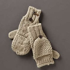 My new mittens!  Love!