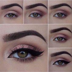sexy eye makeup - Sexy Augen Make-up – Lidschatten sexy eye makeup – eyeshadow # - Sexy Eye Makeup, Mac Makeup, Skin Makeup, Eyeshadow Makeup, Beauty Makeup, Pink Eyeshadow, Eyeshadow Palette, Gel Eyeliner, Makeup Meme