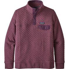 Patagonia Organic Cotton Quilt Snap-T Pullover Sweatshirt - Women's Patagonia Pullover, Sedona Hikes, Diamond Quilt, Cotton Quilts, Organic Cotton, Sweatshirts, Mens Tops, Southern Marsh