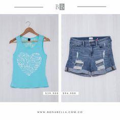 Outfit frescos, perfectos para un día soleado.