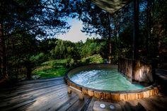 BALIA Camp SPA | opalana drewnem w lesie Warmii i Mazur
