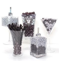 Oakland Raiders Candy Buffet Kit