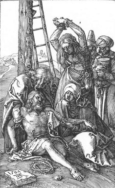 Authority of Jesus painting | File:Albrecht Dürer - Lamentation over Christ (No. 12) - WGA7307.jpg