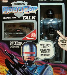 Robotronic RoboCop: Watch him talk!