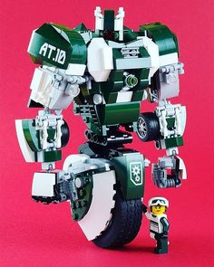 Gyro Mech with its Driver Alive Tenor   Built by aido k via Flickr We don't see…