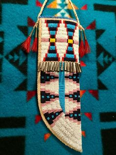 Non Native made. Native American Pictures, Native American Clothing, Native American Regalia, Native American Crafts, Native American Artifacts, Native American Beadwork, Indian Beadwork, Native Beadwork, Native Beading Patterns