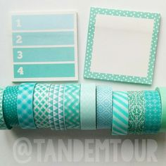Malden-aqua-aqua stationery ❤❤❤