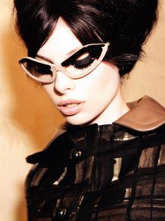 Dioni Tabbers by Ellen von Unwerth for Vogue Italia July 2010