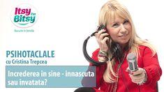 Increderea in sine - innascuta sau invatata? Headset, Headphones, Youtube, Self Control, Headpieces, Headpieces, Hockey Helmet, Ear Phones, Ear Phones