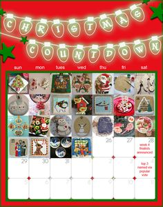 Week 2 finalists announced in the Christmas Countdown cookie decorating challenge on COOKIE CONNECTION! Great Christmas cookie decorating ideas here! Christmas Countdown, Holiday Cookies, Cookie Decorating, Decorating Ideas, Cookies Et Biscuits, Advent Calendar, Challenges, Connection, Holiday Decor