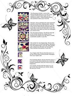 rune table explanation sheet