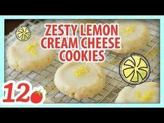 Zesty Lemon Cream Cheese Cookies – 12 Tomatoes