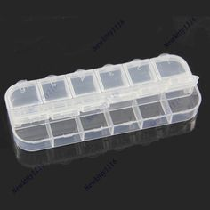 >> Click to Buy << 12 Cell Empty Plastic Storage Beads Rhinestones Box Case False Nail Art Set Tips-F1FB #Affiliate