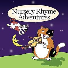 Nursery Rhyme Adventures New Sealed CD Childrens Infants Kids Available from www.sonusmedia.co.uk