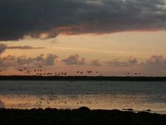 Sunset, Benbecula, Outer Hebrides, Scotland