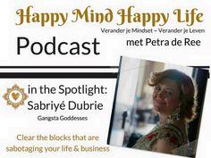 Vanaf 6 september start de Happy Mind Happy Life Podcast  tips, mooie verhalen & inspiratie overal en op elk moment te beluisteren via je smartphone, tablet of desk/laptop  6 september de eerste aflevering en op 13 september de eerste gast : Sabriyé Dubrie van Gangsta Goddesses, hoe te gek is dat 🔝  Sabriye leeft inmiddels haar droomleven. Hoe ze dit heeft bereikt gaat ze met ons delen  #MindsetChange #Mindset #HappyMindHappyLife