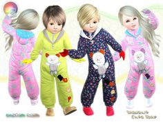 Bear Snowsuit for Toddlers by Natef005  http://www.thesimsresource.com/downloads/1185972