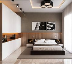 Awesome Deco Chambre Zen Moderne that you must know, You?re in good company if you?re looking for Deco Chambre Zen Moderne Modern Bedroom Design, Master Bedroom Design, Contemporary Bedroom, Home Bedroom, Home Interior Design, Bedroom Decor, Bedroom Ideas, Master Bedrooms, Bedroom Designs