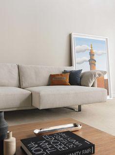 Trussardi Casa - Tecno coffee table and Homa sofa www.luxurylivinggroup.com #Trussardi #LuxuryLivingGroup