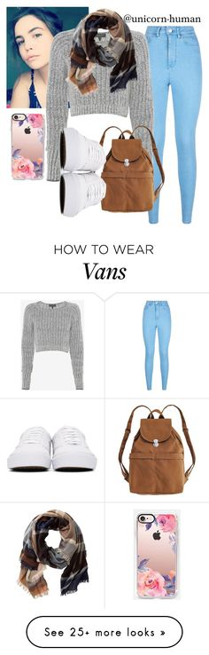 """Untitled #2507"" by unicorn-human on Polyvore featuring Lipsy, rag & bone, BAGGU, Vans, TravelSmith and Casetify"