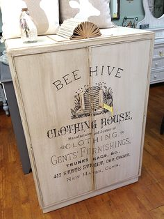 furniture projects Fantastic Painted Transfer Furniture Project Tutorial by Graphics Fairy. The ad is special to us as we go to church just 2 blocks from its address. Obviously, the company no longer exists. Furniture Projects, Furniture Makeover, Diy Furniture, Diy Projects, Handmade Furniture, Furniture Plans, Simple Furniture, Painted Furniture, Woodworking Projects