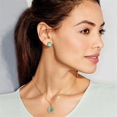 Fancy Flora Collection Necklace and Earring Gift Set