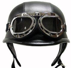 Vintage Helmet. Want this.