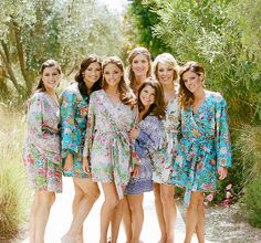 """Beautiful """"Plum Pretty Sugar"""" Robes - Getting Ready Attire and great gifts for bridesmaids"""