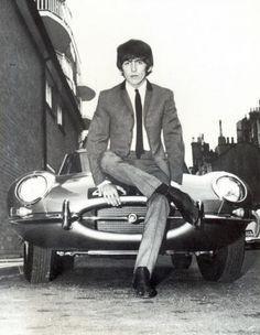 George Harrison and Jaguar