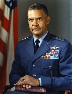 Gen Benjamin Oliver Davis, Jr - leader of the Tuskegee Airmen in World War II; the African-American general in the Air Force - United States