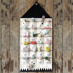 simple advent calendars | We've gathered a few simple yet decorative Advent Calendars, that ...