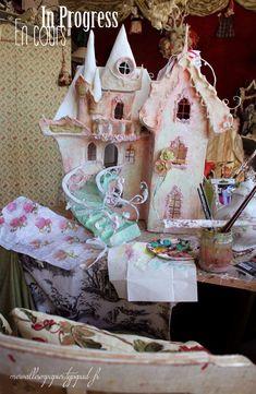merveilles en papier - french paper artist & dollhouse maker