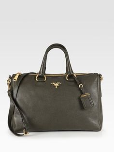 Prada Vitello Daino East/West Satchel.  Saw a woman in NYC carrying this and I fell in love.  It must be mine.