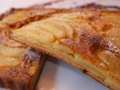 Cocinando con Lola García: Pastel de pera y manzana