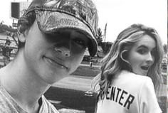 Josh and Maya hanging out at a baseball game. Riley And Lucas, Josh Lucas, Girl Meets World Josh, Baseball Game Outfits, Cute Date Ideas, Boyfriend Pictures, Disney Shows, Sabrina Carpenter, Disney Channel