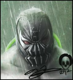 Bane Close-Up by AndyFairhurst on DeviantArt Hulk Art, Batman Art, Comic Book Characters, Comic Character, Comic Books, Bane, Deadpool Funny, Nightwing And Starfire, Arte Dc Comics