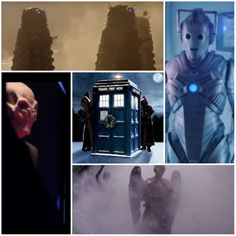 Doctor Who - December 2013 AHHHHHHHHH!!!!!!! Why 4 monsters???? WHY???