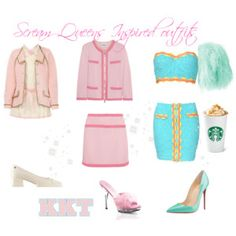 Shop from luxury labels, emerging designers and streetwear brands for both men and women. Scream Queens, Boutique Moschino, Streetwear Brands, Style Me, Christian Louboutin, Hanna Marin, Luxury Fashion, Inspired Outfits, Girly Outfits