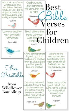 ABC Verses A to Z Bible Verses for Children 26 by Huetopia Bible Verses For Kids, Best Bible Verses, Bible Study For Kids, Kids Memory Verses, Children's Bible Study, Kids Bible Studies, Bible Lessons For Children, Family Bible Study, Bible Bible