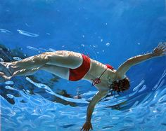 Ericzener work reflects our collective desire for transformation into something ideal. His exploration seek to create a sense of sanctuary, often using figure in water, sleep, journeys and nature as a metaphor for renewal and reprise.