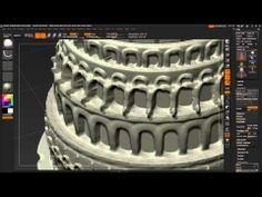 Speed Sculpting ZBrush.fr : Tour de Babel - YouTube