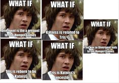 LOL What if... Divergent and Hunger Games by 516tigergirl.deviantart.com on @deviantART