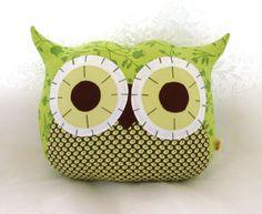 Owl Pillow Plushie