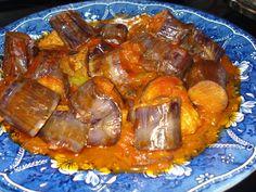 Η Τζίνα κάτι μαγειρεύει.... : Μελιτζάνες γιαχνί τηγανιού με μαϊντανό