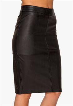 77thFLEA Warsawa PU skirt Black