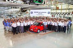 S P E E D C A L: Volkswagen up! chega a 100 mil unidades produzidas no Brasil.