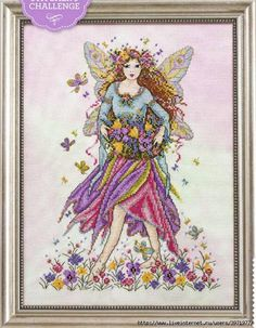 Springtime Flowers Fairy - want to find this pattern. kit?