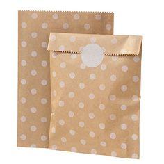 Party Ark's 'Kraft Spot Paper Bags'